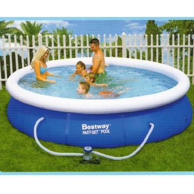 Quick up pool set 3 66 m durchmesser 91 cm tief lksshop for Gunstige poolsets