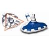 Bodensauger für Schwimmbecken mit Dreieck Vaccumbereich saugt Schmutz aus allen Ecken.